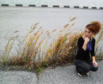春陽アーティスト写真撮影